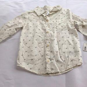Carters Girls Button Down Shirt